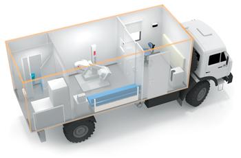 Рентгенографический передвижной кабинет